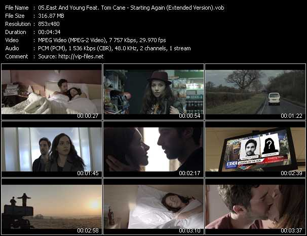 East And Young Feat. Tom Cane video screenshot