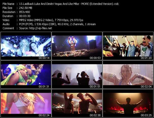 Laidback Luke And Dimitri Vegas And Like Mike video screenshot