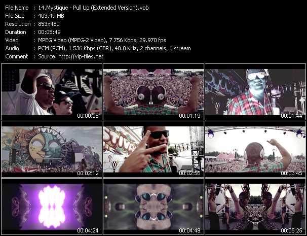 Mystique video screenshot