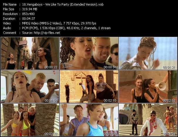 Vengaboys video screenshot