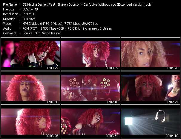 Mischa Daniels Feat. Sharon Doorson video screenshot