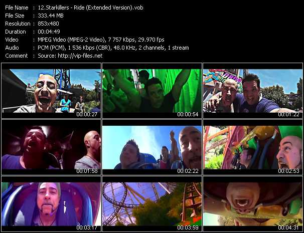 Starkillers video screenshot