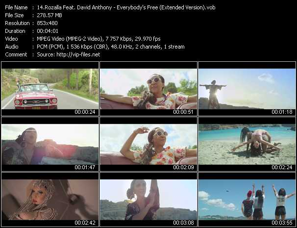 Rozalla Feat. David Anthony video screenshot