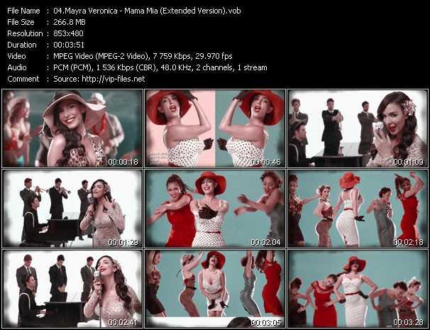 Mayra Veronica video screenshot