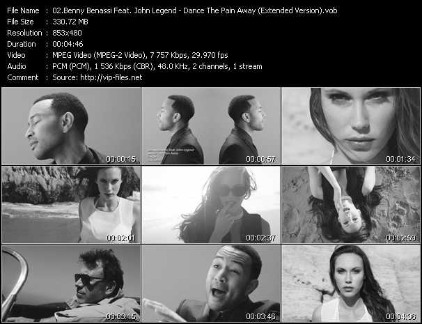 Benny Benassi Feat. John Legend video screenshot