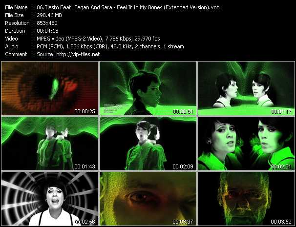 Tiesto Feat. Tegan And Sara video screenshot