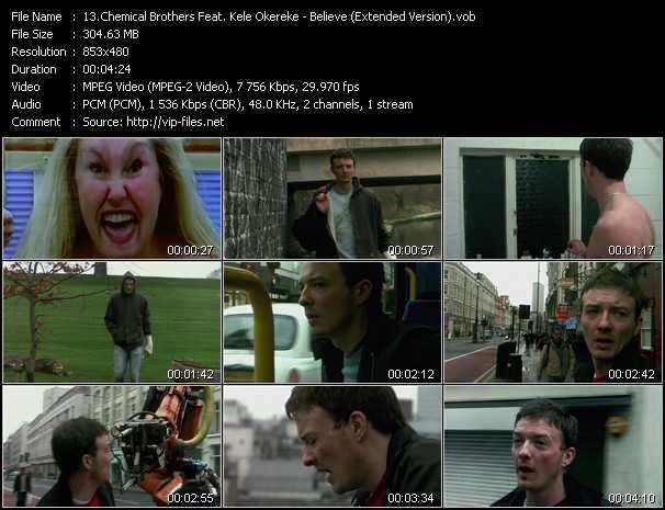 Chemical Brothers Feat. Kele Okereke video screenshot