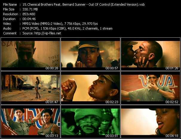 Chemical Brothers Feat. Bernard Sumner video screenshot