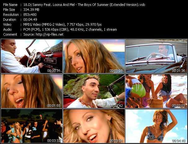 Dj Sammy Feat. Loona And Mel video screenshot