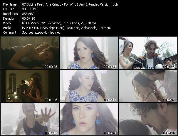 Bobina Feat. Ana Criado video screenshot