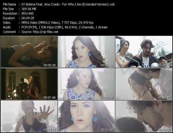 Bobina Feat. Ana Criado video screenshot