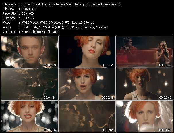 Zedd Feat. Hayley Williams video screenshot