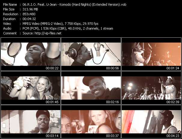 R.I.O. Feat. U-Jean video screenshot