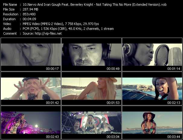 Nervo And Ivan Gough Feat. Beverley Knight video screenshot