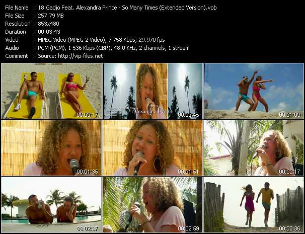 Gadjo Feat. Alexandra Prince video screenshot