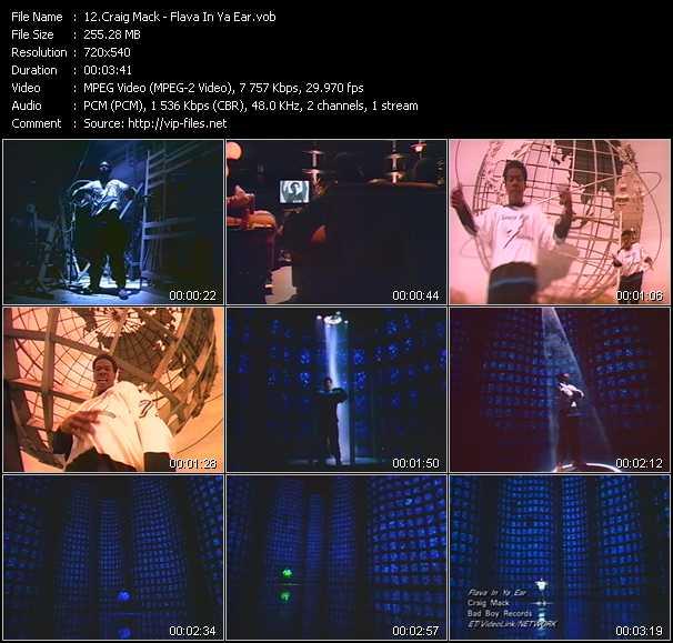Craig Mack video screenshot
