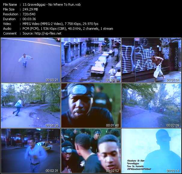 Gravediggaz video screenshot