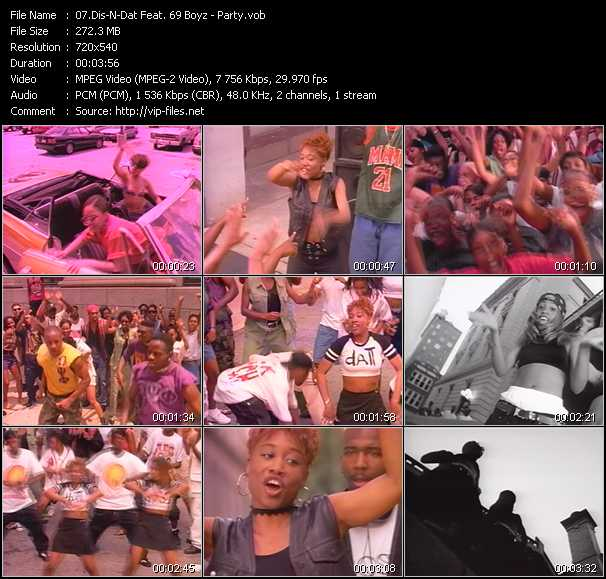 Dis-N-Dat Feat. 69 Boyz video screenshot