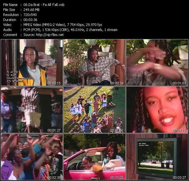 Da Brat video screenshot