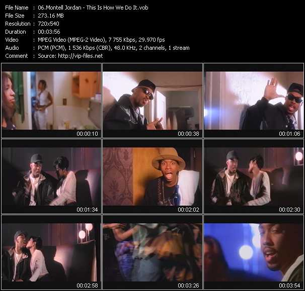 Montell Jordan video screenshot