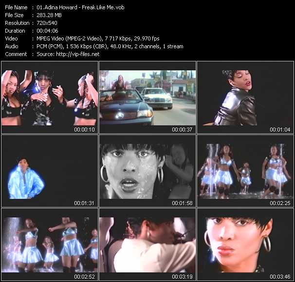 Adina Howard video screenshot