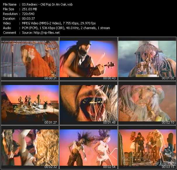 Rednex video screenshot