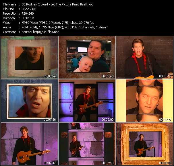 Rodney Crowell video screenshot