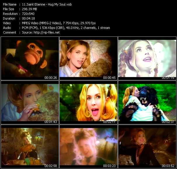 Saint Etienne video screenshot