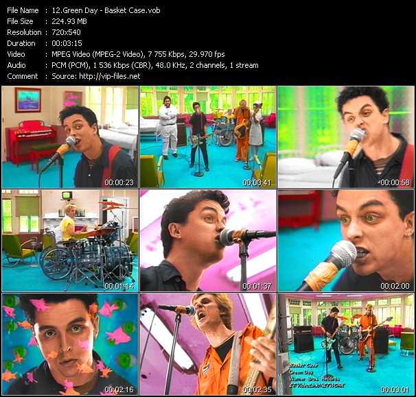 Green Day video screenshot