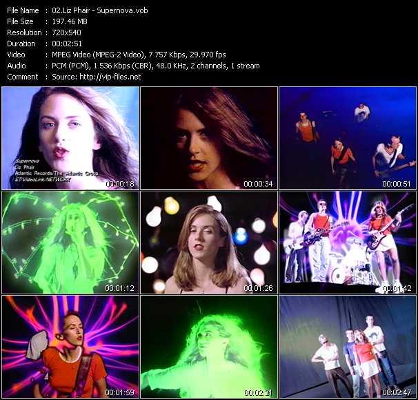 Liz Phair video screenshot