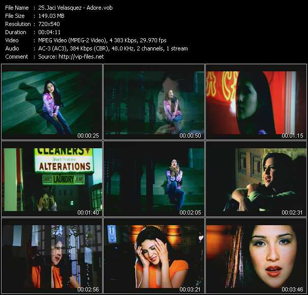 Jaci Velasquez video screenshot