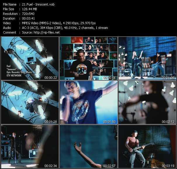Fuel video screenshot