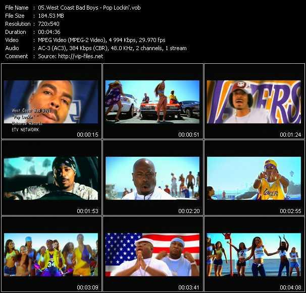West Coast Bad Boys video screenshot
