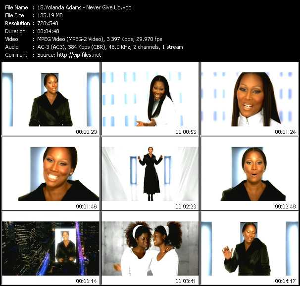 Yolanda Adams video screenshot