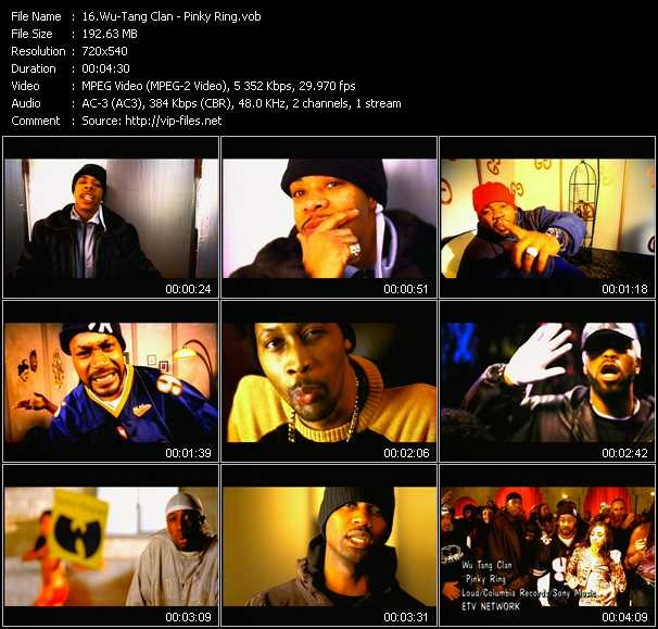 Wu-Tang Clan video screenshot