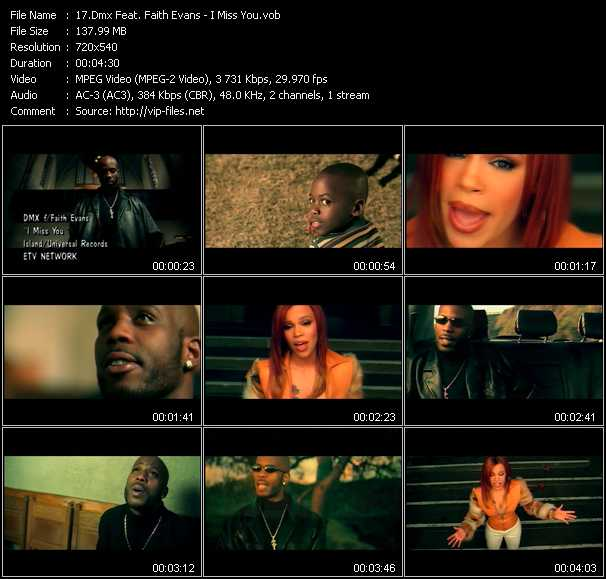 Dmx Feat. Faith Evans video screenshot