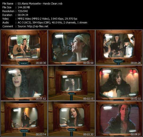 Alanis Morissette video screenshot