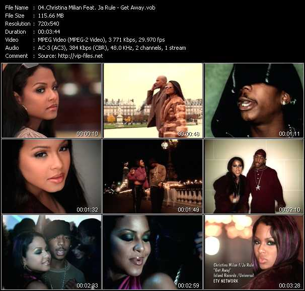 Christina Milian Feat. Ja Rule video screenshot