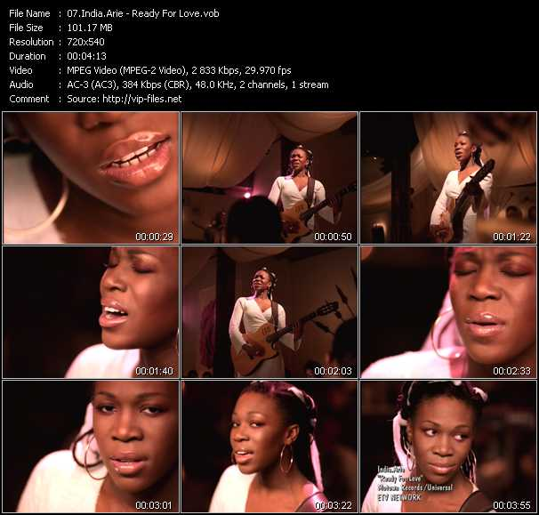 India.Arie video screenshot