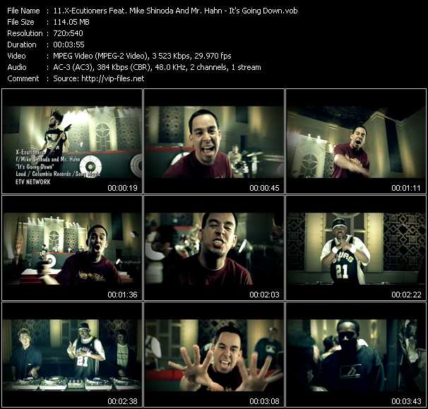 X-Ecutioners Feat. Mike Shinoda And Mr. Hahn video screenshot