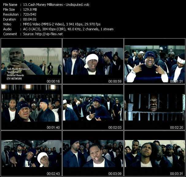 Cash Money Millionaires video screenshot