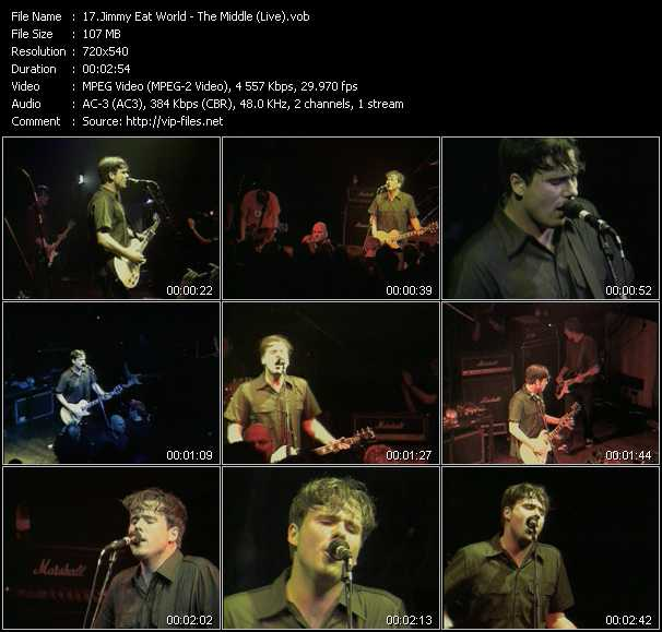 Jimmy Eat World video screenshot
