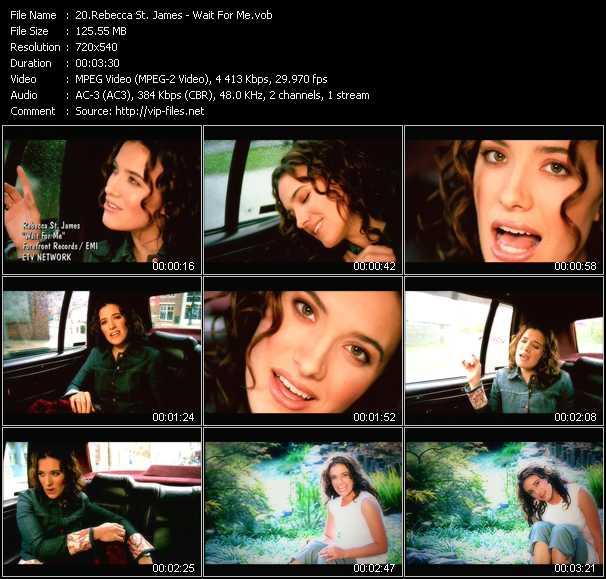 Rebecca St. James video screenshot