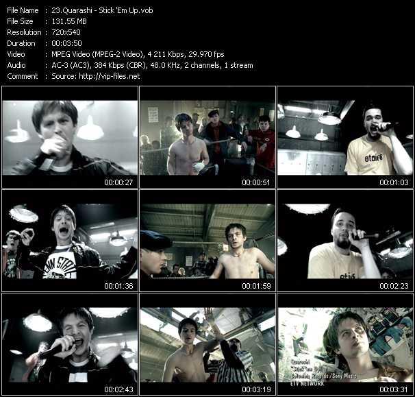 Quarashi video screenshot