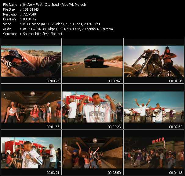 Nelly Feat. City Spud video screenshot
