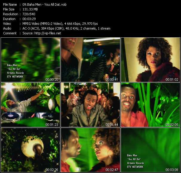 Baha Men video screenshot