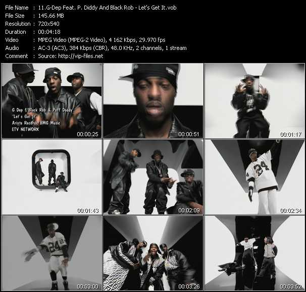G-Dep Feat. P. Diddy (Puff Daddy) And Black Rob video screenshot