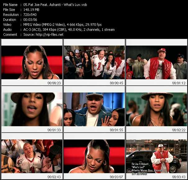 Fat Joe Feat. Ashanti video screenshot