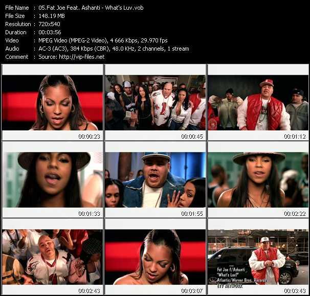 Fat Joe Feat. Ashanti video screenshot