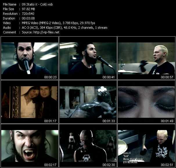 Static-X video screenshot